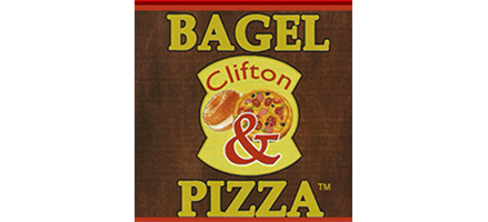 Clifton Bagel  Pizza